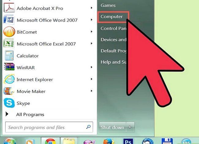 Titel afbeelding Branden van bestanden naar een CD in Windows XP Stap 3
