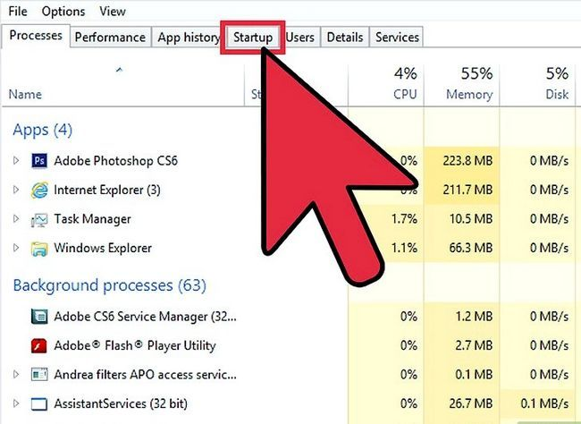 Titel afbeelding Enable and Disable Startup Programs in Windows 8 Stap 2