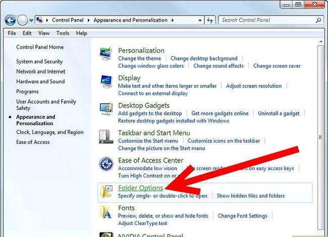 Titel afbeelding Unhide Folders in Windows 7 Step 1