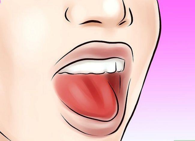 Titel afbeelding Blow Saliva Bubbles Step 1