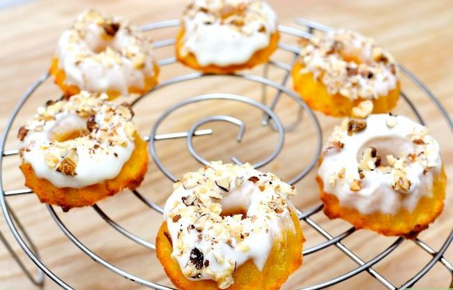 Titel afbeelding Make Carrot Cake Donuts Step 12