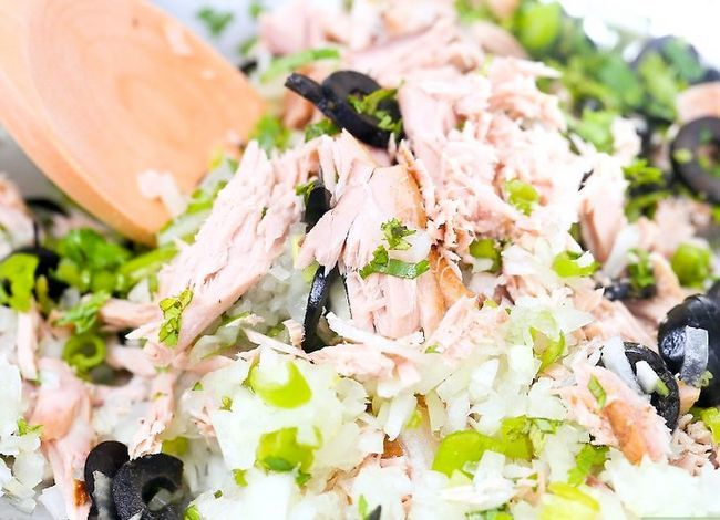 Titel afbeelding Make Tuna Salad Step 21