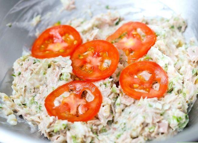 Titel afbeelding Make Tuna Salad Step 6