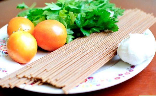 Titel afbeelding Make Spaghetti al Pomodoro e Basilico Step 1