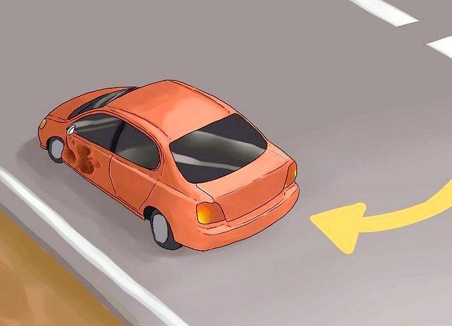 Hoe om te gaan met een klein verkeersongeval