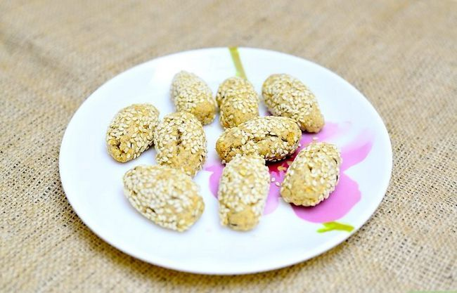 Titel afbeelding Make Gluten Free Sesame Cookies Final