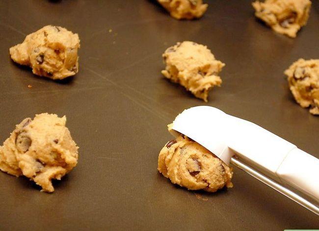 Titel afbeelding Make Chocolate Chip Peanut Butter Cookies Stap 5
