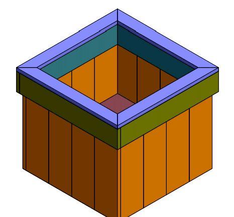 Hoe houten potten met pallets te maken