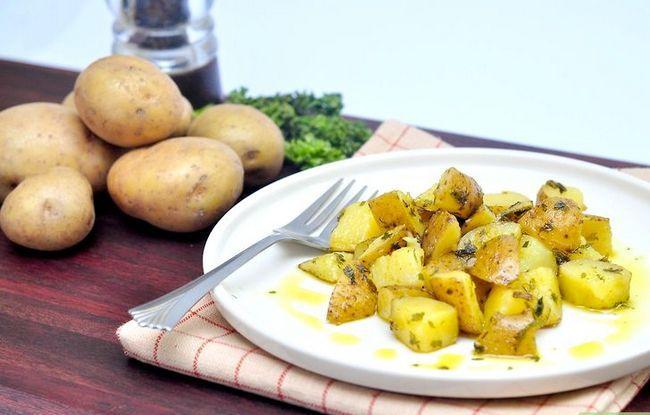 Titel afbeelding Make Parsley Potatoes Step 15