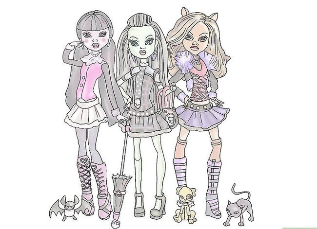 Titel afbeelding Make Your Monster High Doll Live in Paradise Stap 07