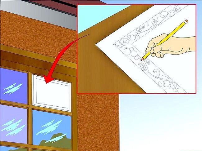 Hoe je ramen eruitzien als glas in lood