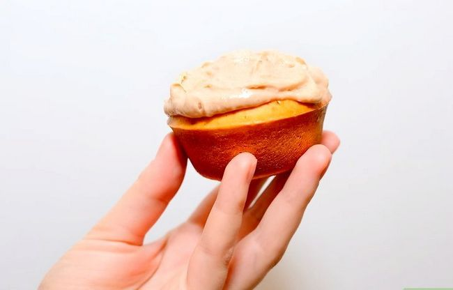 Titel afbeelding Make Chocolate Chip Cookie Deeg Cupcakes Stap 25