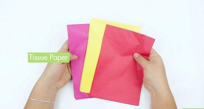 Titel afbeelding Make Tissue Paper Roses Stap 1