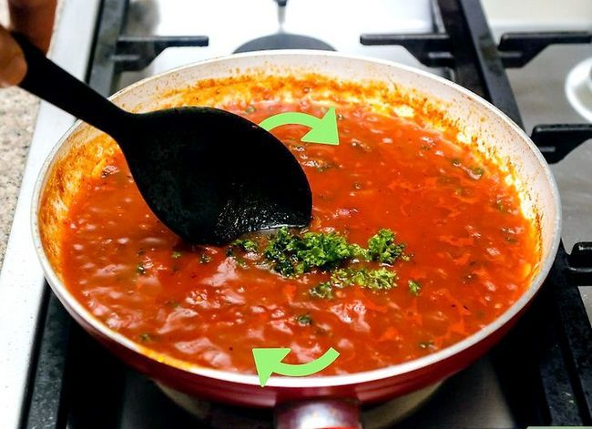 Titel afbeelding Make Pasta Sauce Step 17