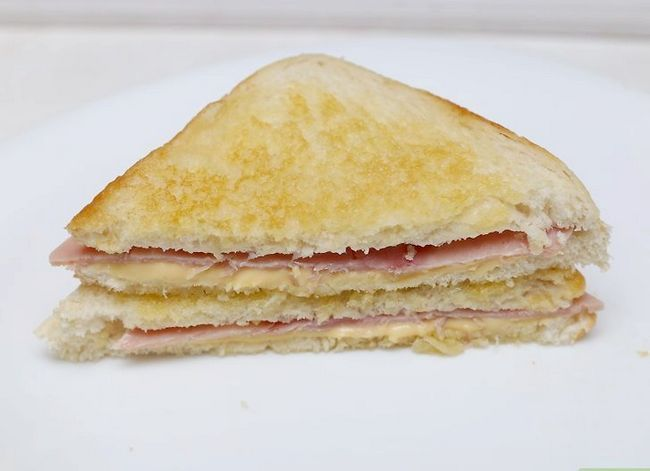 Titel afbeelding Make a Ham and Cheese Sandwich Step 11