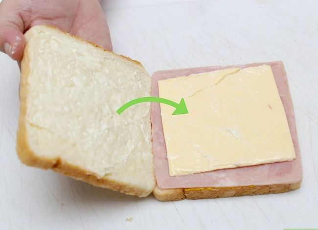 Titel afbeelding Make a Ham and Cheese Sandwich Step 14