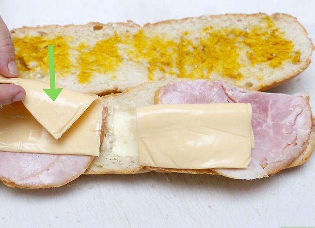 Titel afbeelding Make a Ham and Cheese Sandwich Step 3