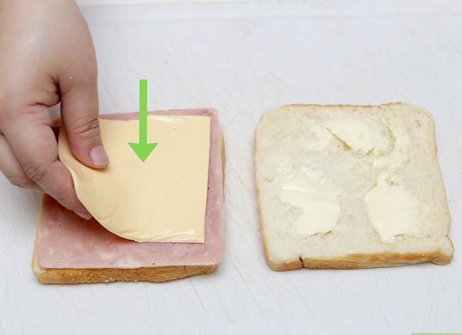 Titel afbeelding Make a Ham and Cheese Sandwich Step 8