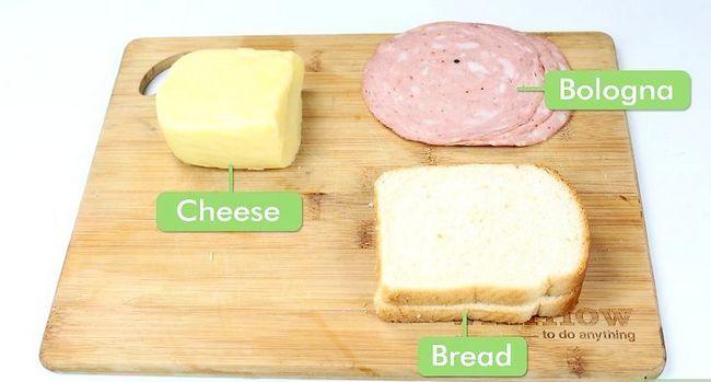 Titel afbeelding Make a Bologna Sandwich Step 1