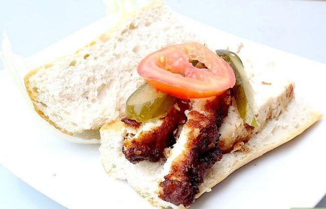 Titel afbeelding Make a Chicken Sandwich Step 11