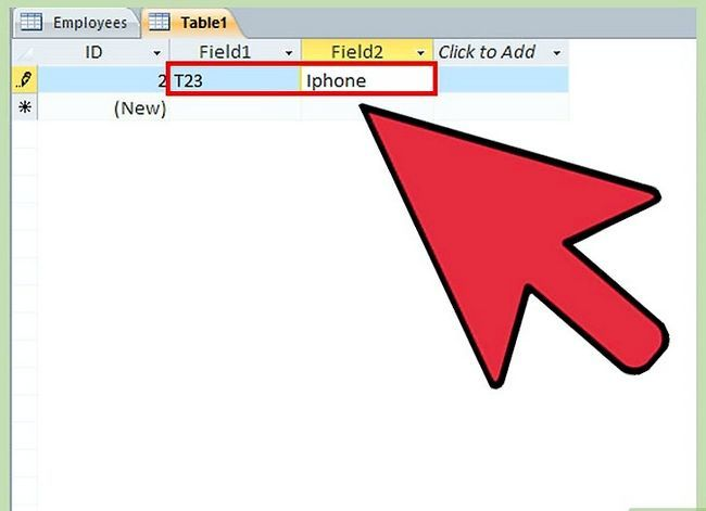 Titel afbeelding Make a Database Using MS Access Step 17
