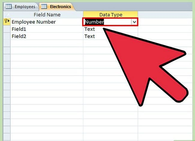 Titel afbeelding Make a Database Using MS Access Step 20