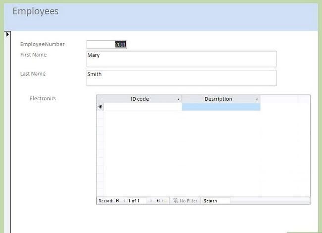 Titel afbeelding Make a Database Using MS Access Stap 39