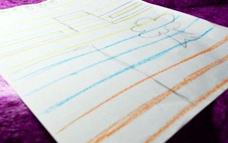 Titel afbeelding Draw orange lines Step 4