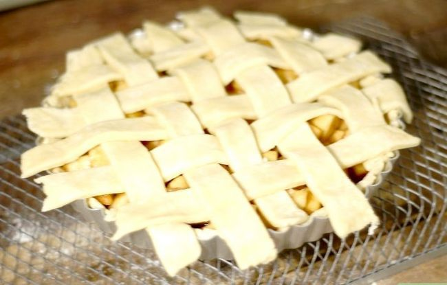 Titel afbeelding Make Vegan Apple Pie Step 24
