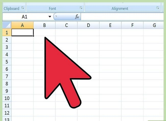 Titel afbeelding Import Excel In Access Step 2