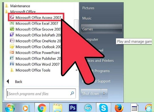 Titel afbeelding Import Excel Into Access Step 5