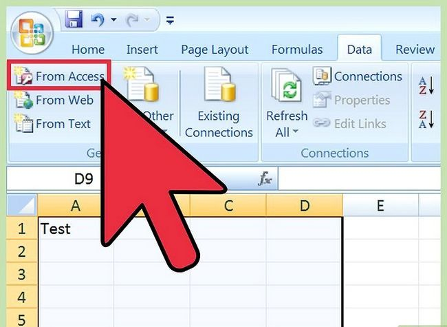 Titel afbeelding Import Excel In Access Step 6