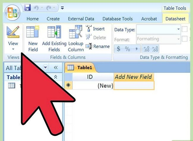 Titel afbeelding Import Excel Into Access Step 7