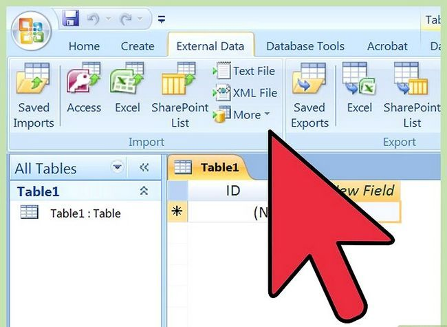 Titel afbeelding Import Excel In Access Step 8