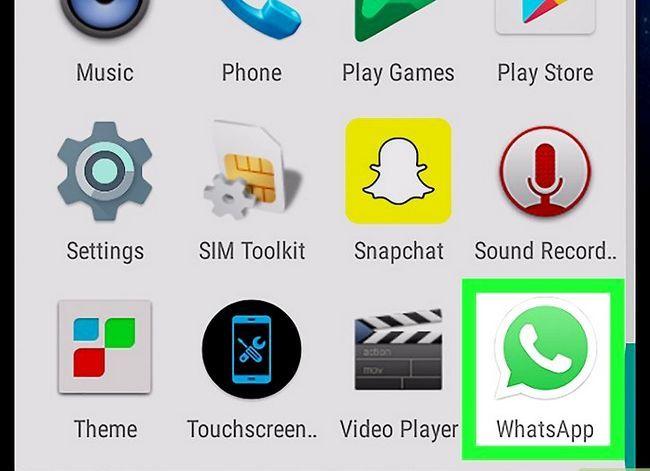 Titel afbeelding Contactpersonen importeren op WhatsApp op Android Stap 1