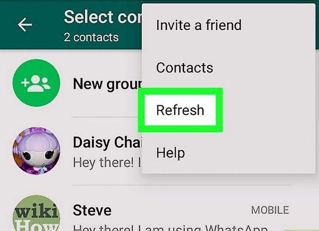 Titel afbeelding Contactpersonen importeren op WhatsApp op Android Stap 4