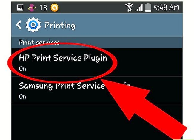 Titel afbeelding Print from the Samsung Galaxy Note 3 Step 4