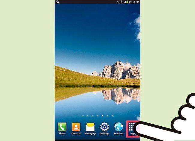 Titel afbeelding Install Apps op een Samsung Galaxy Stap 1