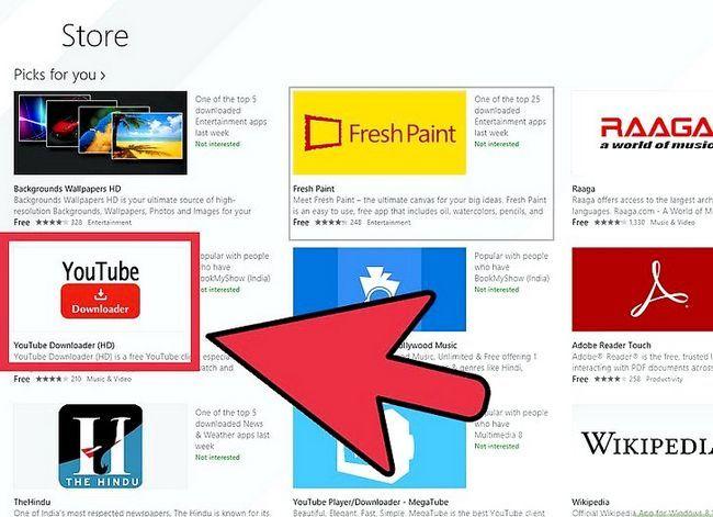 Titel afbeelding Install Apps in Windows 8 Step 3