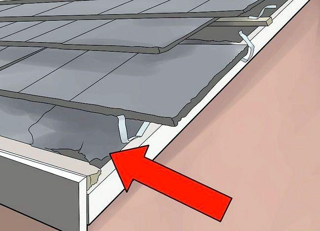 Hoe een dak van gegolfd metaal te installeren
