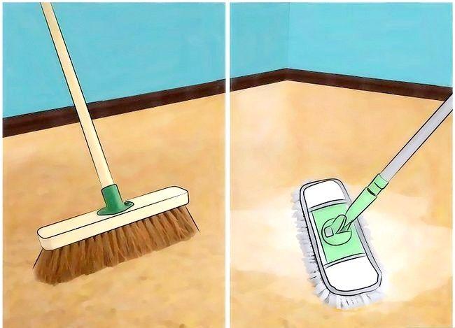 Hoe kurkvloeren schoon te maken