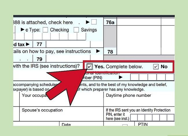 Titel afbeelding Fill out IRS Form 1040 Step 26