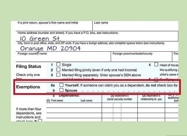 Titel afbeelding Fill out IRS Form 1040 Step 9