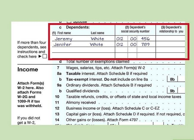 Titel afbeelding Fill out IRS Form 1040 Step 10