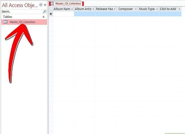 Titel afbeelding Keep Track van je CD-verzameling met behulp van Microsoft Access Stap 13