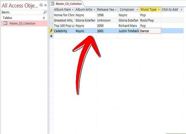 Titel afbeelding Keep Track van je CD-verzameling met Microsoft Access Stap 14