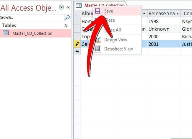 Titel afbeelding Keep Track van je CD-verzameling met Microsoft Access Stap 15