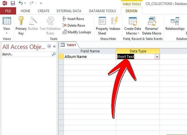 Titel afbeelding Keep Track van je CD-verzameling met Microsoft Access Stap 9