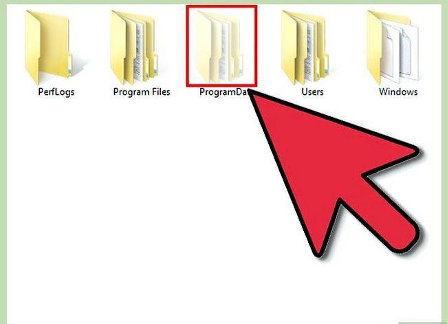 Titel afbeelding Verborgen bestanden weergeven in Windows 7 Stap 11