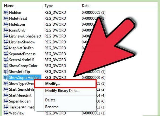 Titel afbeelding Verborgen bestanden weergeven in Windows 7 Stap 35